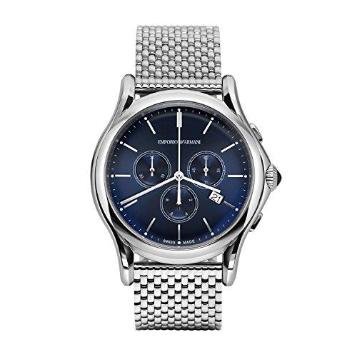 Emporio Armani Reloj para Hombre de Cuarzo con Correa en Acero Inoxida