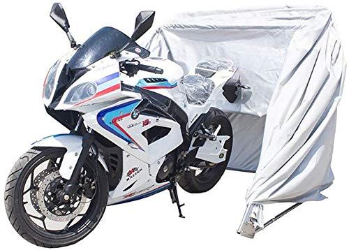 N\A ZT Aparcamiento for Bicicletas Escudo de la Motocicleta Carpa Moto Cubierta Plegable de Almacenamiento de Bicicletas Garaje