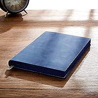 オフィスのノート/日記 手描きの非標準のワイヤレス絵イラストホワイトペーパー日記アート学生スーパー厚い簡単な抜粋メモ帳を描くA5空白のノートブック (色 : Blue)