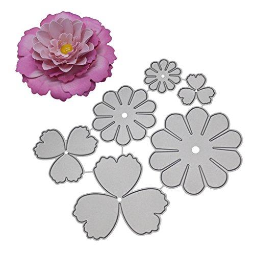 Flower Cutting Dies Stencil for DIY Scrapbook Embossing álbum Paper Craft