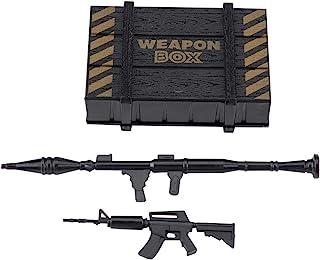 RC auto wapen doos, Crawler Decor Plastic wapen Box zaak met speelgoed pistool voor RC auto kruipers RC decoratie Upgrade ...