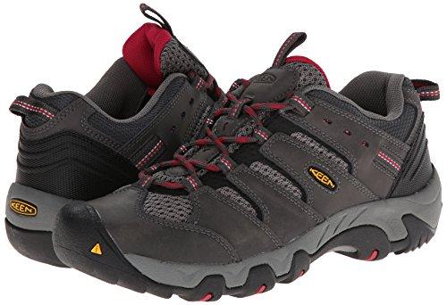 KEEN Women's Koven Hiking Shoe, Magnet/Cerise, 5 M US