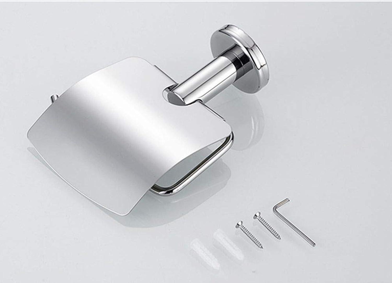 LUDSUY 304 Toilet Tissue Holder Toilet Roll Paper Cassette Toilet Bathroom Hardware Pendant Hand Cartons
