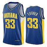 Myles Turner - Camiseta de baloncesto para hombre, diseño de Indiana Pacers 33 # 2021 New Swingman City Edition