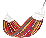 WFY Amacas de Jardin Exterior Hamaca portátil portátil Hamaca de jardín Columpio Cama portátil al Aire Libre Camping Jardín Silla Colgante Hamaca para Dormir Viaje (Color : D, Size : 2 * 1M)