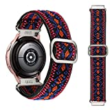 Syxinn Compatible con 20mm Elástico Correa Galaxy Watch Active/Active 2 40mm 44mm/Galaxy Watch 3 41mm/Galaxy Watch 42mm Banda de Elástico Scrunchies Pulsera para Gear Sport/S2 Classic/Huawei Watch 2