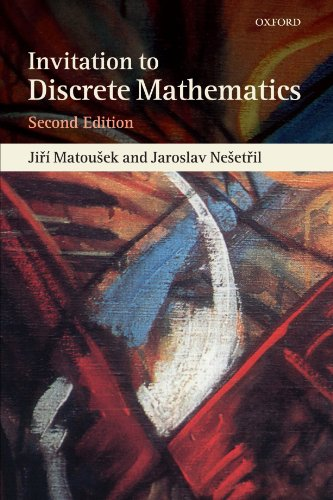 Compare Textbook Prices for Invitation to Discrete Mathematics 2 Edition ISBN 9780198570424 by Matousek, Jiri,Nesetril, Jaroslav