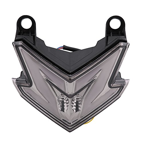 Carbon Fiber 2013-2016 Replacement for Key Guard Cover Tekarbon Kawasaki Z800 2x2 Twill Weave