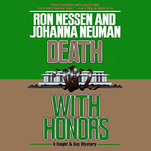 Death with Honors audiobook cover art