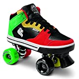 Sure-Grip Rasta Mid Top Shoe Roller Skates (5)
