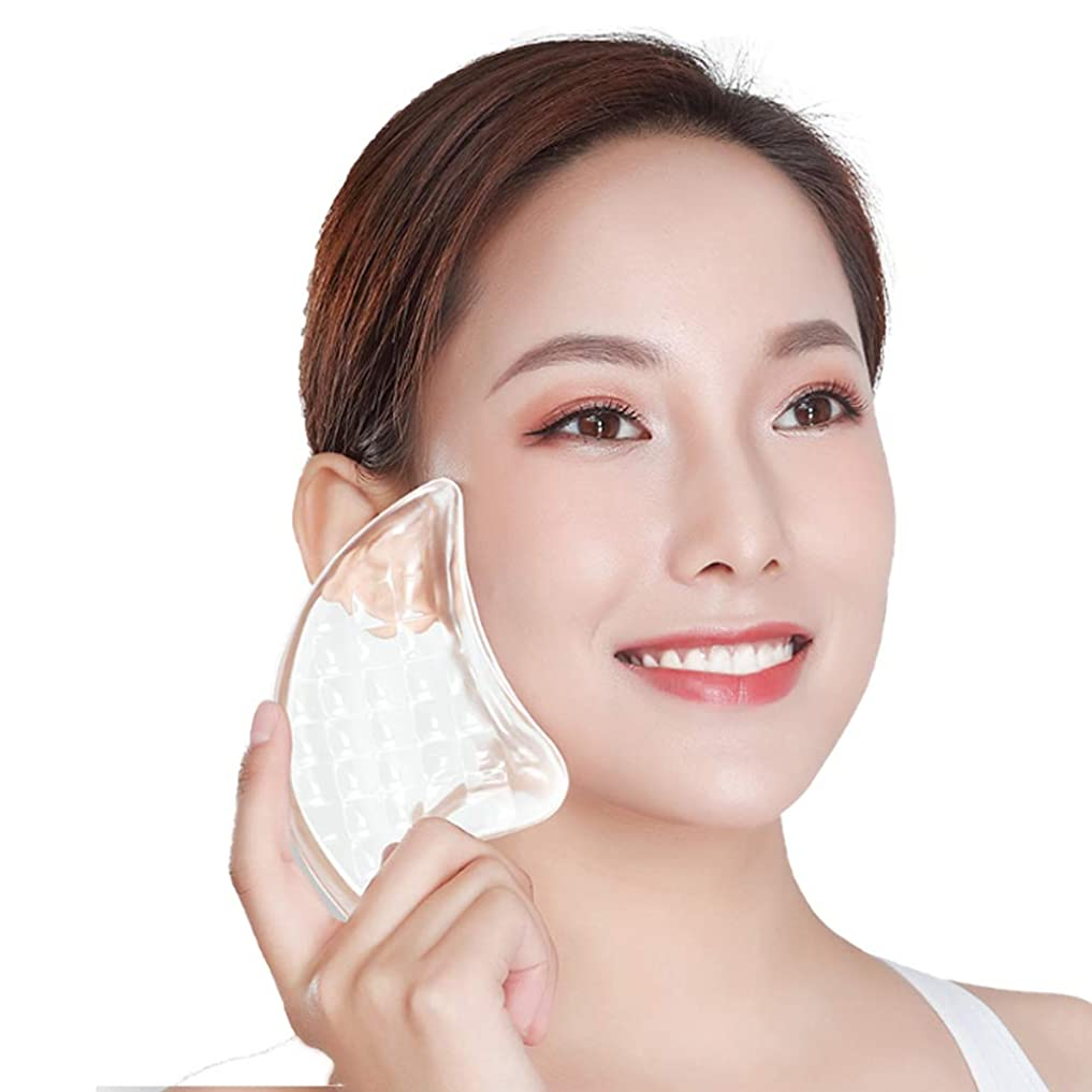 うなずくつかむ忙しいCangad かっさプレート 美顔器 高品質 3Dクリスタル 小顔 美顔グッズ 羽根型 ボディ マッサージ かっさマッサージ 刮痧 ウィング型 健康グッズ