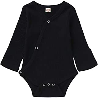 Newbown Baby Girl Boy Knitted Sweather Clothes Long Sleeves Pajamas Romper Fall Winter Bodysuit 0-18M
