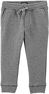 OshKosh B'Gosh Boys' Classic Fit Logo Fleece Pants