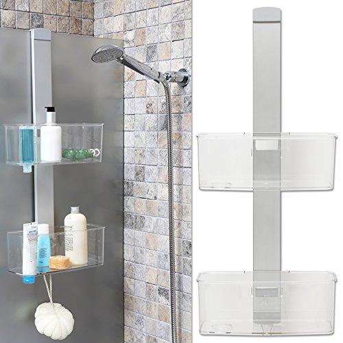TW24 Duschhängeregal Luxus Design - Duschablage - Badregal - Duschregal