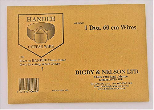 Handee Cheese Cutter Replacement Wires,pack of 12