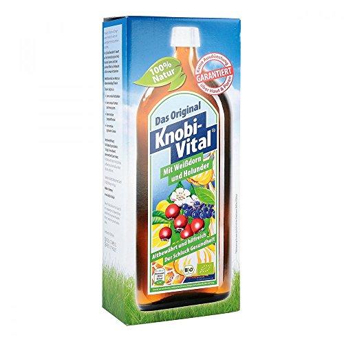 KNOBIVITAL mit Weißdorn+Holunder 960 ml