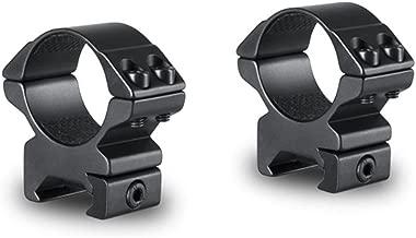 Hawke Sport Optics 22116 Riflescope Rings - Weaver 30mm Medium 2 pc, Black