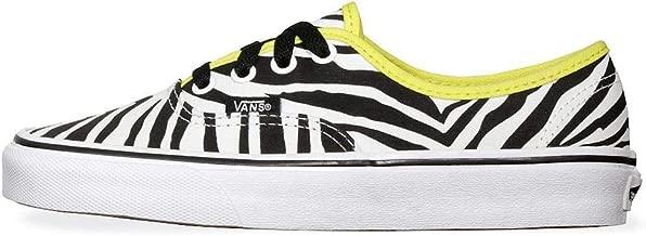 Vans Authentic Zebra Womens 9 / Mens 7.5 Green Sheen True White Fashion Sneakers