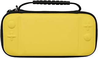 Switch lite Handbag, Protective Waterproof Travel Carrying Case by Portable Universal Hard Shell Protector Game Case for Nintendo Switch lite Console & Accessories(Yellow)