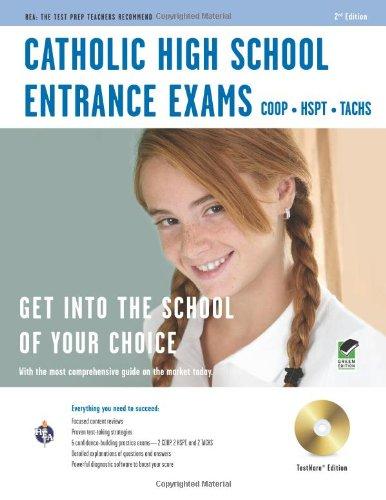 Catholic High School Entrance Exams w/CD-ROM 2nd Ed. (Catholic High School Entrance Test Prep)