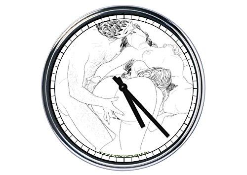 Capricci Italiani Reloj de Pared erótico Escena 8