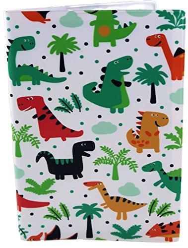 TRS Passport Cover for Kids (Dinosaur)