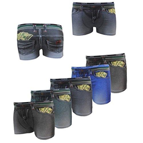 Garcia Pescara Uomo6 Heren Boxershorts grootte 6 stuks Jeans & Bills optiek maten selectie: L - XXXL shorts onderbroek onderbroek shorts mannen mannen mannen mannen Boxershort Boxer Boxers L XL XXL 3XL