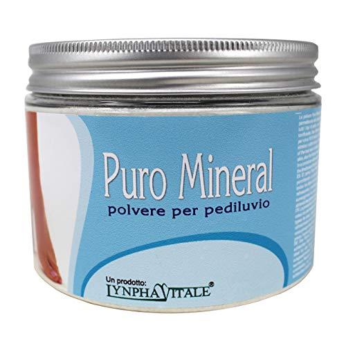 Allume di Potassio Polvere Puro Mineral per Pediluvio - Allume di Rocca in Polvere per calli e piedi gonfi - Elimina dolori e cattivi odori - 500 gr