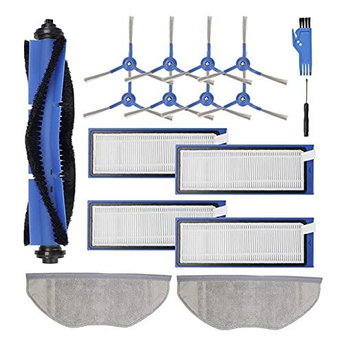 XIAOSHEN Accesorios de aspiradora Kit de Piezas de Repuesto Ajuste para EUFY ROBOVAC L70 Robot híbrido aspiradora (Color : Beige)