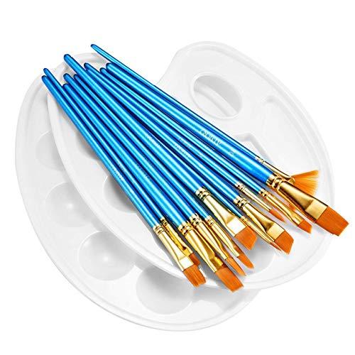 bon comparatif ATMOKO[12 brushes + 2 pallets]Pinceau, ensemble de pinceaux à huile… un avis de 2021