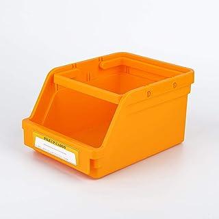 B/H Boîte de Rangement en Plastique distribuée,Boîte de Rangement de Bureau Boîte de Rangement à tiroirs en Plastique Jaune