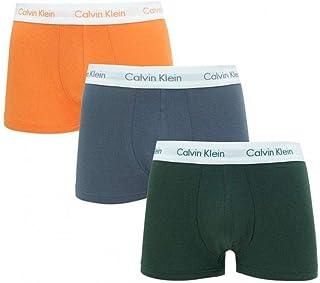 Calvin Klein Men's Low Rise 3 Pack Trunks