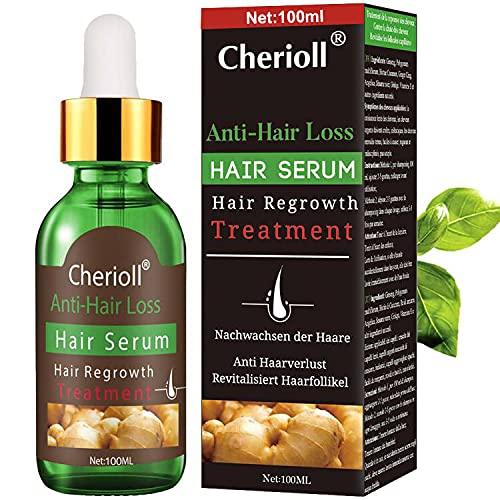 Anti-Haarausfall, Haar Wachstum Serum, Haarausfall und Haar-Behandlung, Haar Serum, Neues Haarwachstum stimuliert, fördert dickeres, Volleres und schneller wachsenden...