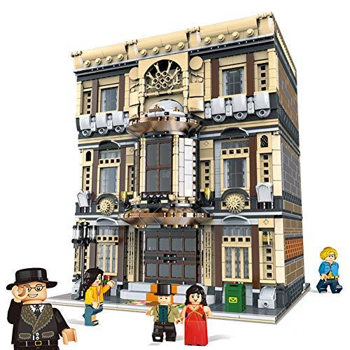 TOSUAI Mini Street View Hausbausätze, Intellektuelle Bausteine, 3D-Puzzle DIY Lernspielzeug, Geschenk Für Erwachsene Und Kinder 5157 STK