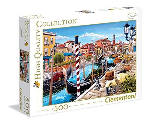 Clementoni- Venezia High Quality Collection Puzzle, 500 pezzi, 35026