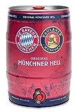 Paulaner Münchener Hell - FC BAYERN MÜNCHEN LIMITED EDITION (1 x 5l) - Zwei Münchner Originale gemeinsam auf Erfolgskurs