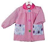 KLOTTZ FROZEN - Babi guardería con bolsillos de tela Frozen de la marca Bata colegio y comedores niños Niñas color: FUCSIA talla: 3