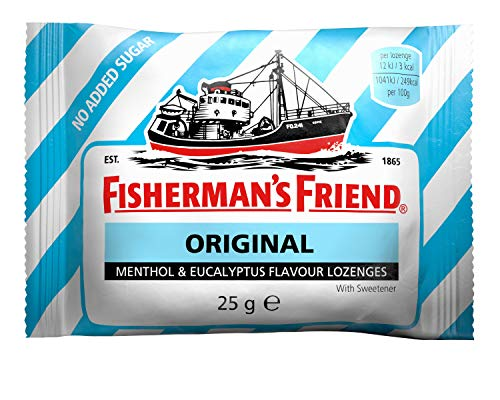 Fisherman's Friend 24 Sachets Menthol Eucalyptus Sans Sucres de 25g