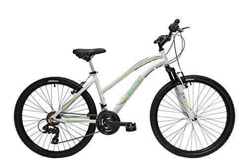 """Discovery DP074 - Bicicleta Montaña Mountainbike 26"""" B.T.T. Cuadro de Aluminio. Cambio Shimano TX30, 18 Velocidades, con amortiguación - para mujer"""