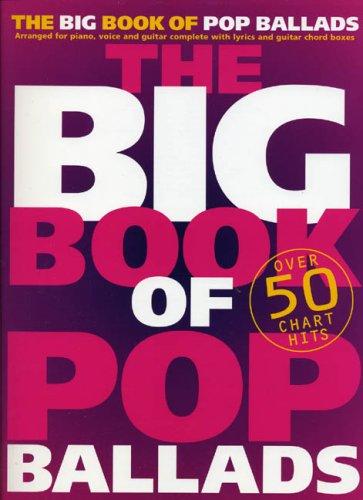 The Big Book Of Pop Ballads (PVG): Songbook für Gesang, Klavier (Gitarre)