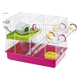 Ferplast Luara Small Hamster Cage | Fun & Interactive Cage Measures...