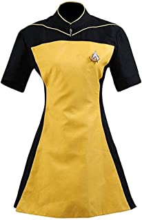 Women's TNG Skant Uniform Dress Halloween Cosplay Costume