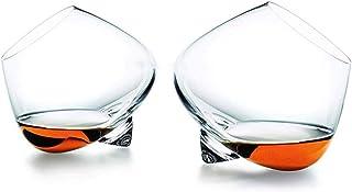 LCY Whiskey Karaffe Kreative peitschen top Whisky Rock kristall Glas Normann drehen scopperil Liquor Whisky Wine Cup Cognac Brandy senfters Tumbler