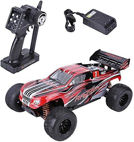 1 10 Offroad Auto, RC fürzeug Allrad-Fernbedienung 2,4 GHz Gel ewagen Sport Rennwagen, Kinder Elektro Spielzeug