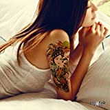 Tatouage Temporaire'Chinese Princess & Dragon' - ArtWear Tattoo Asian Style - B0072 M