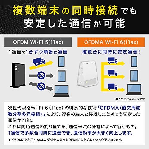 NEC無線LANWi-Fiメッシュルーター親機&中継機セットWi-Fi6(11ax)/AX1800Atermシリーズペアリング済みAM-AX1800HP/MS