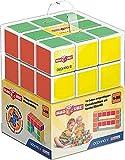 Geomag Coffret Magicube 126, Free Building, construcciones magnéticas, 16 Cubos, Color
