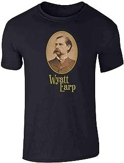 Wyatt EARP Western Portrait Short Sleeve T-Shirt