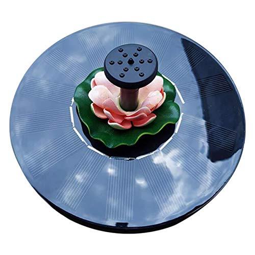 Solar Water Foun-Tain Lo-Tus Leaf...