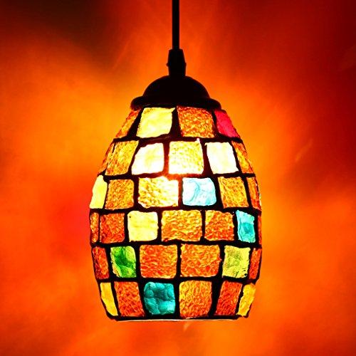 Mosaik Hängeleuchte Pendelleuchte orientalische Hängelampe für E27 Leuchtmittel für Esszimmer Restaurant Café - # 1